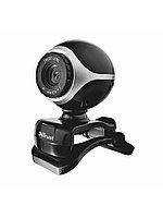 Веб-камера Trust Exis Webcam Black-Silver, Алматы