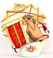 """Сувенир """"Грелка на заварочный чайник """"Юрта и верблюжонок"""", фото 2"""
