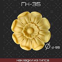 Мебельная накладка из гипса Гн-35