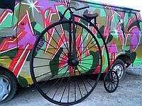 Декорации из металла Велосипед