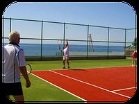 «AQUALAND GROUP» осуществляет строительство теннисных кортов, а также других спортивных площадок с любым типом покрытия. Например, травяное покрытие, знакомое всем по Уимблдонскому турниру; земляное – популярное в России и в Среднеазиатском регионе;