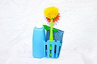 Набор для мыться посуды, синий