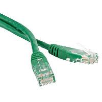 ITK Коммутационный шнур (патч-корд), кат.5Е UTP, 2м, зеленый