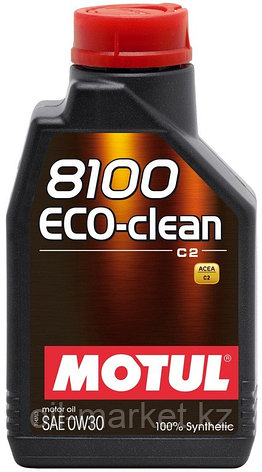 Моторное масло MOTUL 8100 Eco-clean 0W-30 1л, фото 2