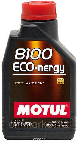 Моторное масло MOTUL 8100 Eco-nergy 0W-30 1л, фото 2