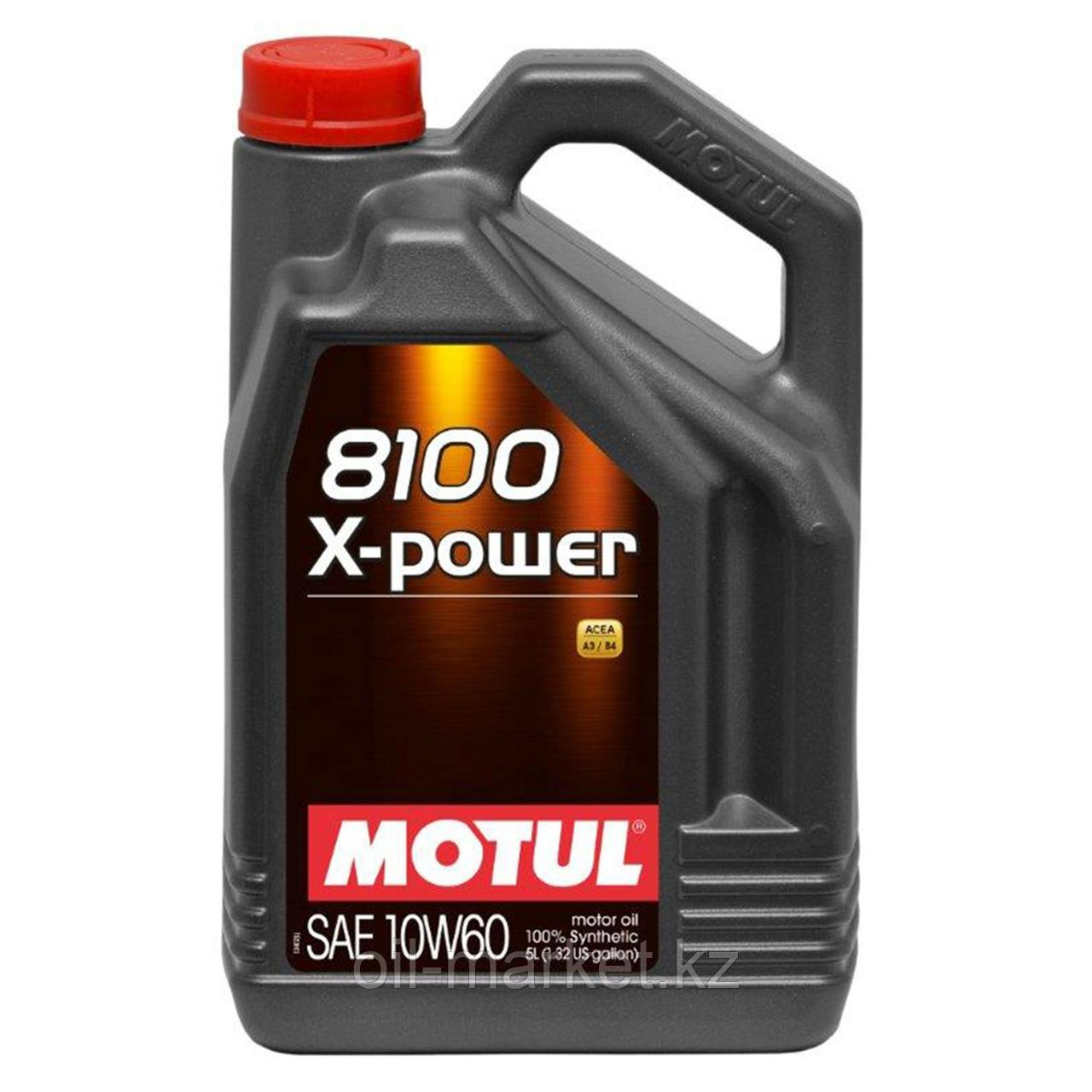 Моторное масло MOTUL 8100 X-Power 10W-60 5л