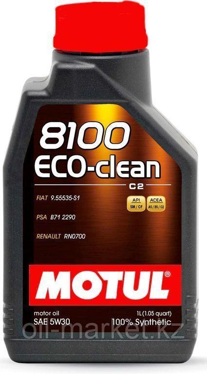 Моторное масло MOTUL 8100 Eco-clean 5W-30 1л