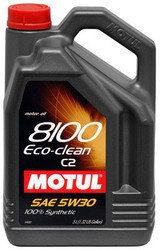 Моторное масло MOTUL 8100 Eco-clean 5W-30 5л, фото 2