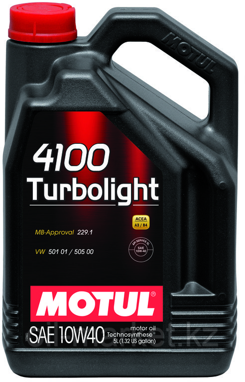 Моторное масло MOTUL 4100 Turbolight 10W-40 5л