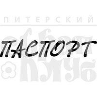 """ФП штамп """"Паспорт"""" 1"""