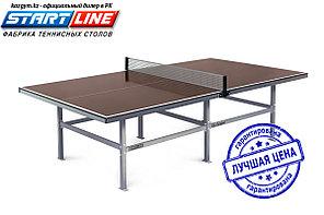 Влагостойкий теннисный стол Start Line City Outdoor 15 мм, с сеткой