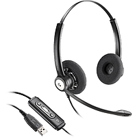 Профессиональная USB-гарнитура Plantronics Entera BNC USB для MS Lync и Skype for Business