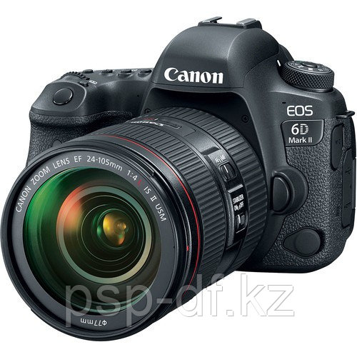 Фотоаппарат Canon EOS 6D Mark II kit 24-105mm f/4.0L IS USM II гарантия 1 год