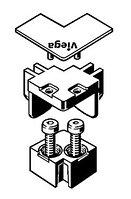 Набор комплектующих Viega Advantix угловой матовый, фото 1