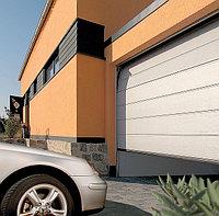 Секционные гаражные ворота, фото 1
