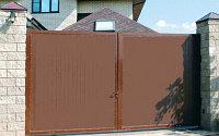 Ворота в дом, фото 1