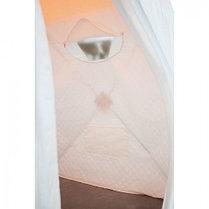 """Палатка """"Призма Стандарт"""" 150, 3-слойная, цвет бело-оранжевый, фото 3"""
