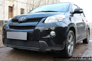 Защита радиатора Toyota Urban Cruiser 2009-2014 black низ