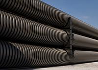 DKC Труба жесткая двустенная для кабельной канализации (12 кПа)д110мм длина 5,70м. ,цвет черный