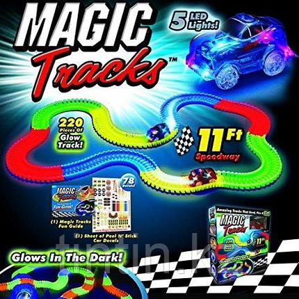 Гоночный Трэк Magic Tracks, 220 деталей, фото 2