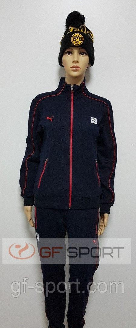 Спортивный женский костюм Puma(темно-синий)