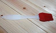 Кулинарная кисточка, гелевая, красная, 200 мм