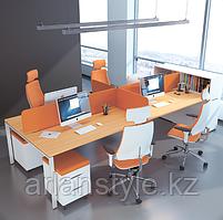 Cтолы для 4-х сотрудников Workbench