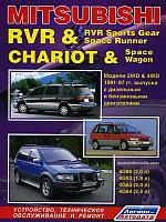 Mitsubishi Chariot / Space Wagon / RVR / RVR Sports Gear / Space Runner. Модели с 1991 по 1997 год выпуска