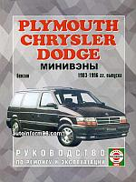 Dodge Caravan / Chrysler Voyager / Plymouth Town / Country. Модели с 1983 по 1996 год выпуска