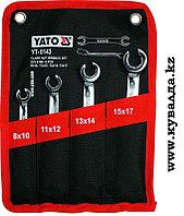 Набор накладных (накидных) ключей, полуоткрытый Yato YT-0143