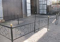 Оградки на кладбище