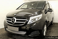 Защита радиатора Mercedes-Benz V-Klass II 2014- chrome PREMIUM