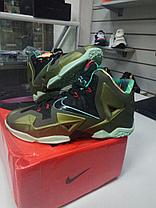 Баскетбольные кроссовки Nike Lebron 11 (XI) Low золото, фото 2