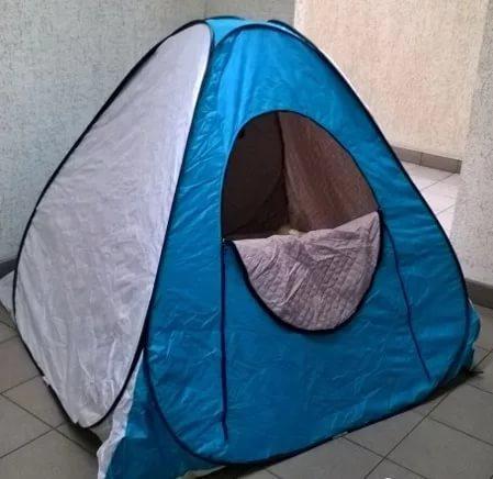 Палатка зимняя утепленная автомат 2х2, фото 2