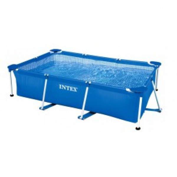 Бассейн каркасный Intex 28271 Rectangular Frame Pool, 260х160х65см - Интернет магазин-ZAR в Алматы