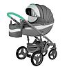 Детская универсальная коляска Adamex Monte Carbon Deluxe 3в1 (D2)