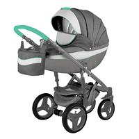 Детская универсальная коляска Adamex Monte Carbon Deluxe 2в1 (D2), фото 1