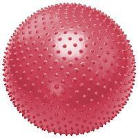 Фитбол, мяч для фитнеса массажный с насосом, (d=85см)