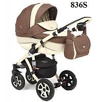 Универсальная детская коляска Adamex Barletta 2в1 (836S), фото 1