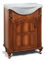 """Тумба под раковину """"Версаль""""  65 см (белое патина золото, голубое патина золото). Настенное зеркало.Шкаф. , фото 2"""
