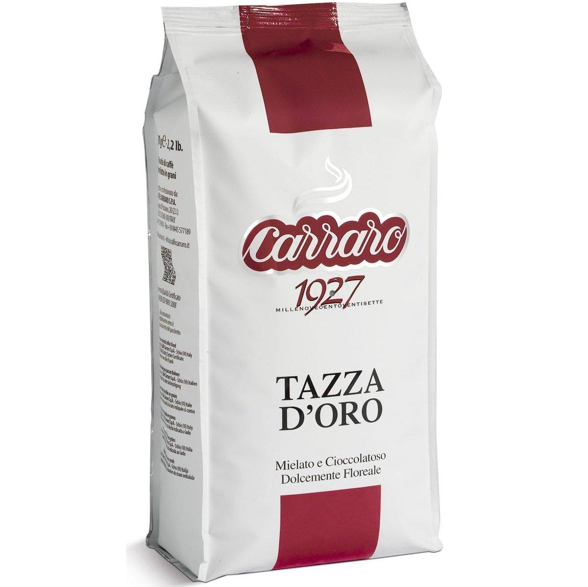 "Carraro ""Tazza d'Oro"", кофе в зернах, Италия"