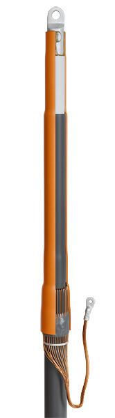 Концевые муфты внутренней установки для кабелей с изоляцией из сшитого полиэтилена до 10кВ