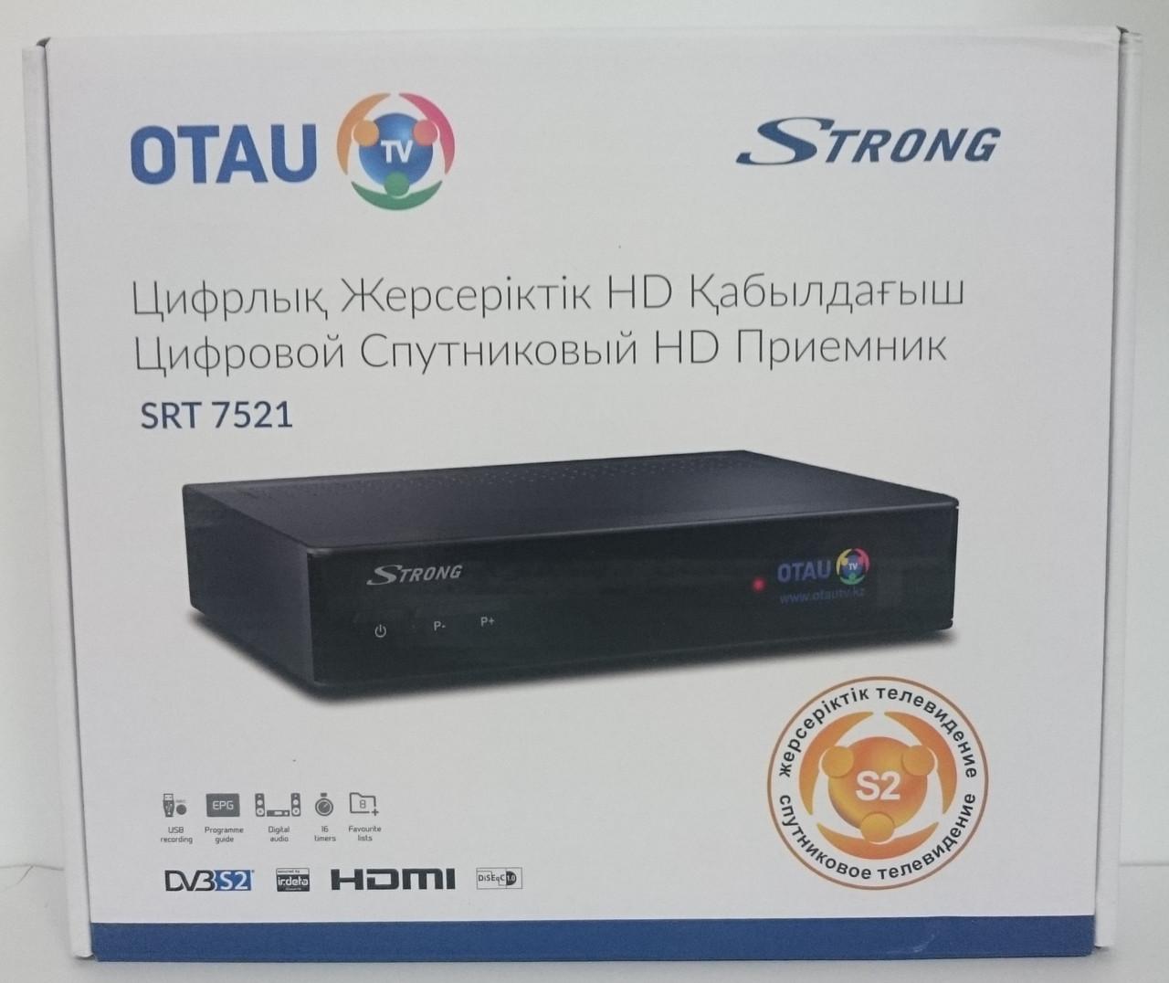 Спутниковый ресивер Strong SRT 7521  OTAU-TV