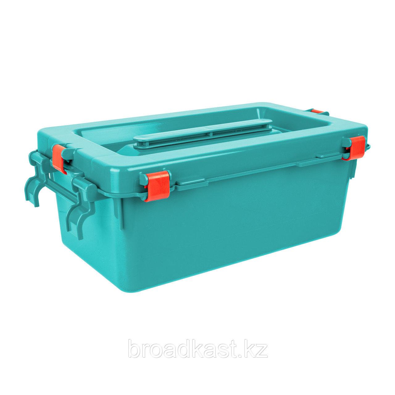 Бак для сбора, хранения и перевозки медицинских отходов 12,0 л.