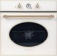 Духовой шкаф Kuppersberg SR 663 W белый жемчуг/ручка дверцы и переключатели цвета бронзы