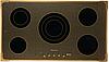 Варочная поверхность Kuppersberg текстурная бронза/рамка цвета бронзы/золота