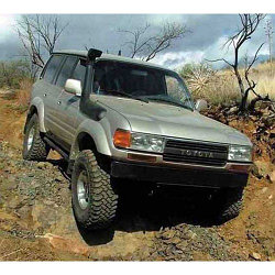 Toyota Land Cruiser 80 шноркель- T4