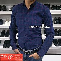 Мужская байковая рубашка , фото 1