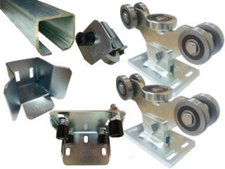 Комплект консольного механизма  для откатных ворот массой до 700 кг., ширина проема до 4 м. (Италия)