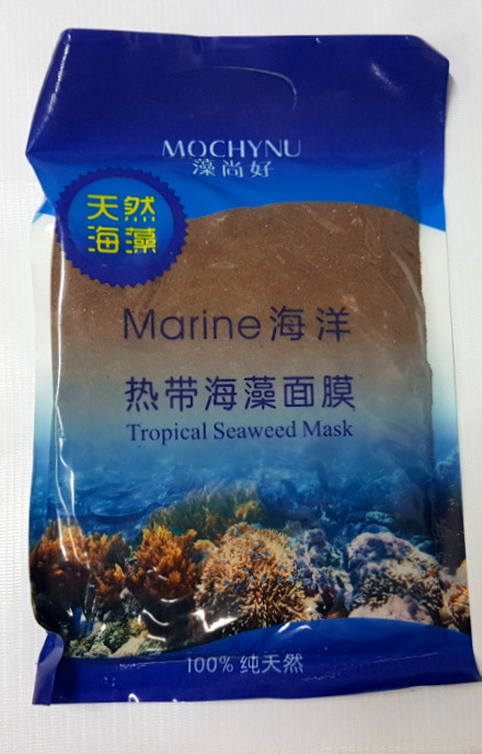 Сухая маска для лица - Морские водоросли (500 гр)